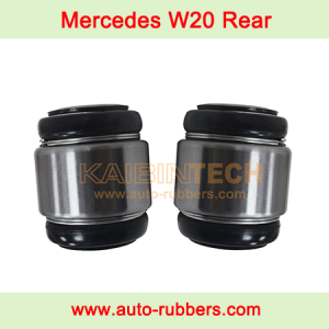 Air Spring repair kits rubber bushing mount for Mercedes Benz W220 Rear Air Suspension Shock Absorber Ball Joint strut support bearing