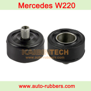 W220 Mercedes Benz Air Spring fix kit Airmatic Suspension Shock Front Strut Mount rubber bushing 2203202438
