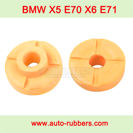 rubber buffer-stops-for-BMW-X5-E70-X6-E71-Air-Spring-Suspension-repair-kits-Front Upper Strut Mount Support Bushing airmatic-strut-fix-kits-bump-block-top-buffer-stop