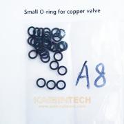 Copper Pressure Air Valve Repair Kits rubber seal o-ring on Audi A8 air suspension