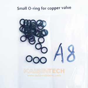 Copper Pressure Air Valve Repair Kits rubber seal o-ring on Audi A8 air suspension