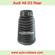 udi A8 D3 rear Left Right air bag Spring Strut Assembly part Rubber Bellow Dust Boot.