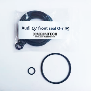 rubber seal o-rings set for air strut shock absorber repairing on Audi Q7 front air suspension