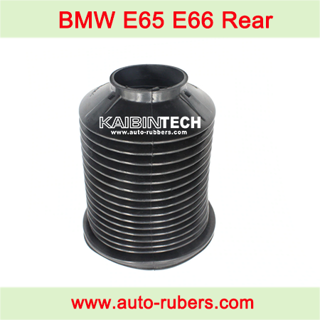 BMW-E65-E66-740-750-Air-Spring-Suspension-Airmatic-Strut-repair-kit-Rubber-Bellow-Dust-Cover-Dust-Cover-Boot-37126785537-37126785538
