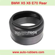 BMW X5 E70 X6 E71 E72 rear air strut repair kits rubber dust boot cover