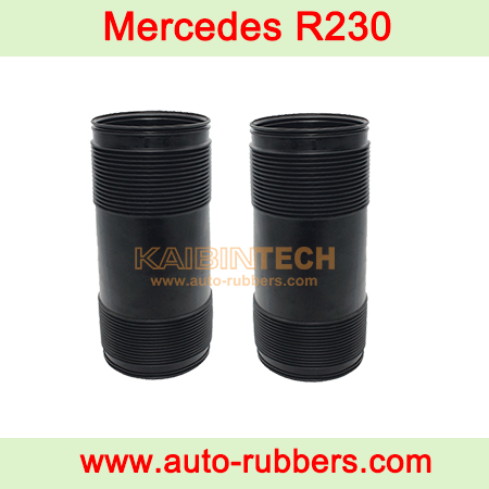 Mercedes-Benz-SL-Class-R230-Rubber-Dust-Cover-for-Benz-Rear-airmatic-suspension-repair-kits-Shock-Absorber-2303204138-A-230-323-00-92