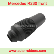 Dust cover boot for Front air suspension on Mercedes R230 ABC Hydraulic Front Air Suspension