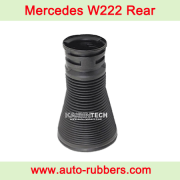 Dust cover boot for Rear air suspension part on Mercedes W222 S Class