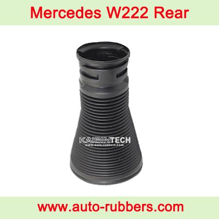 Mercedes-W222-S-Class-Rear-Air-Suspension-Airmatic-Strut-Shock-Absorber-Repair-Kits-Air-Suspension-Dust-Cover-Boot-2223205313-2223205213-2223207413