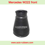 Mercedes W222 S550 S600 S63 AMG Front Air Suspension Spring plastic dust boot