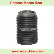 Dust cover boot for Rear air suspension on Macan 95B Rear Air Bag Repair Kits
