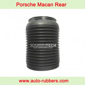 Dust cover boot for Rear air suspension on Macan 95B Rear Air Bag Repair Kits
