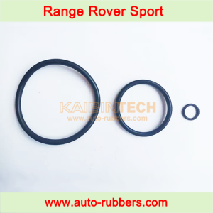 Range Rover Sport LR3 LR4 front Air Suspension Spring part rubber seal rings set