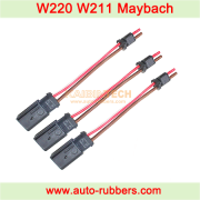 W220 W211 Maybach Suspension Compressor Wiring Harness