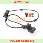 W220 rear shock absorber Air Suspension repair kits electric cable Air Spring fix kits dashpot line harness