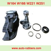 Mercedes W164 W166 W221 W251 Wabco compressor pump fix kits