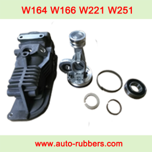 Mercedes W164 W166 W221 W251 Wabco compressor pump fix kits