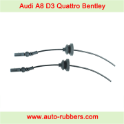 Audi A8 D3 4E (2002-2010) Quattro Bentley VW Phaeton front shock absorber Air Suspension repair kits, electric cable