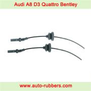 Audi A8 D3 4E (2002-2010) Quattro Bentley VW Phaeton front shock absorber Air Suspension repair kits, electric cable