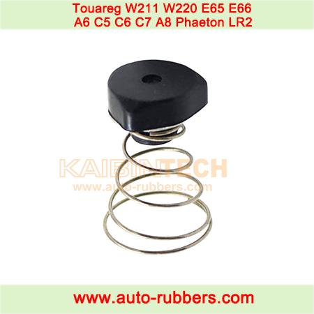 Air-Compressor-Pump-Cylinder-Damping-Plug-Rubber-Valve-W-Spring-for-Touareg-W211-W220-E65-E66-A6-C5-C6-C7-A8-Phaeton-LR2-XJ6