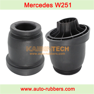 air suspension bag repair part plastic piston on Mercedes Benz W251