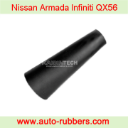 Rubber sleeve bladder for air suspension on Nissan Armada Infiniti QX56