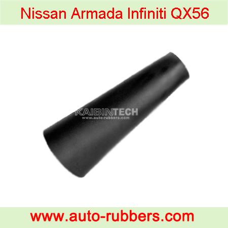 Nissan-Armada-Infiniti-QX56-Air-Shock-Pair-Nissan-OEM-NSSSP00002-Rear-Air-Suspension-Shock-Rubber-Bladder-Sleeve