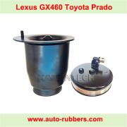 Metal Piston and Metal Cover For rear air spring on Toyota Land Cruiser Prado 150 Lexus GX460 J15