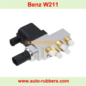 Solenoid control Valve Block for Mercedes Benz W211