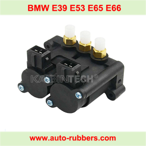 Solenoid Valve Block for BMW E65 E66 E53 E39 Air Suspension