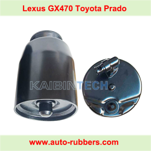 Air Spring suspension bag Repair Parts metal piston and metal cover for Toyota Prado 120 Lexus GX470