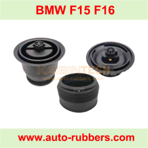 BMW X5 F15 X6 F16 Rear Air Ride Suspension repair kits plastic parts