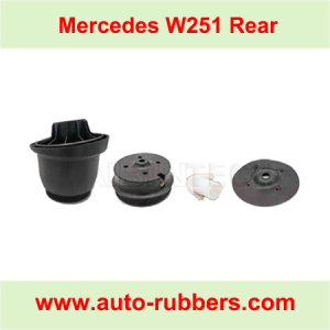 Plastic Module Inside Piston Plastic Parts For Rear Mercedes Benz R Class W251