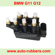 Solenoid Valve Block for BMW 7 G11 G12 Air Spring Compressor