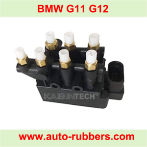 Solenoid Valve Block for BMW 7 G11 G12 Air Spring Compressor