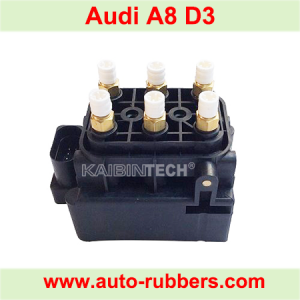 Solenoid Valve Block for Audi A6 4F2, C6, A8 4E, C5 & Allroad Air Suspension Compressor Pump