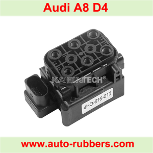 Air Suspension Solenoid Block Valve Unit for Audi A8 S8 4H A6 A7 S6 S7 4G Airmatic Shock Absorber Pump