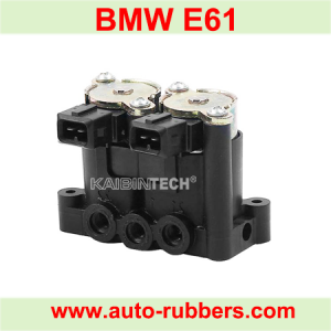 Air Suspension compressor Part Solenoid Valve Block for BMW E61