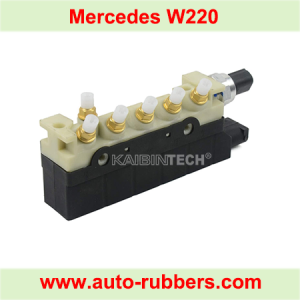 Air Suspension compressor Part Solenoid Valve Block for W220