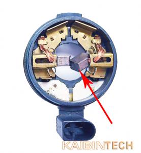air suspension compressor electrical module