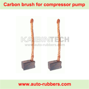 carbon brush for air suspension compressor electrical motor