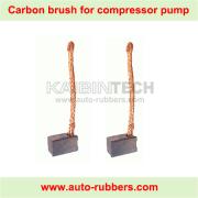 carbon brush for air suspension compressor electrical motor