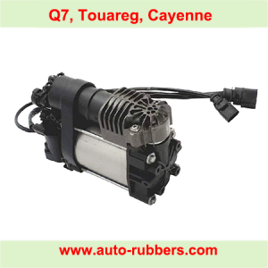 Air Compressor Pump for Porsche Cayenne Panamera Shock Absorber