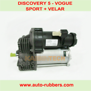 COMPRESSOR PUMP FOR DISCOVERY 5 RANGE ROVER VOGUE SPORT VELAR