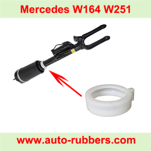 W164 W251 front AirMatic Suspension Parts Snap Ring Shock absorber repair kit Plastic Snap Buckle