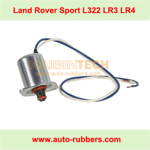 Land Rover Range Rover LR3 LR4 Sport air suspension compressor pump fix kit solenoid