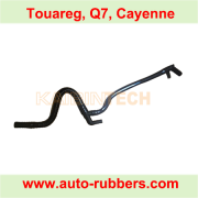 compressor intake exhaust and pressure air line for Q7 Touareg Cayenne