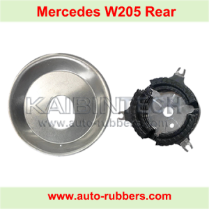 Repair Kits Top Cover aluminum metal module for W205 C class 2015 Rear Airmatic Suspension