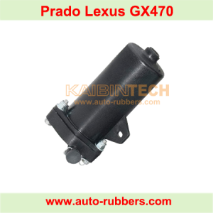 plastic cylinder for Prado 120 air Suspension Compressor