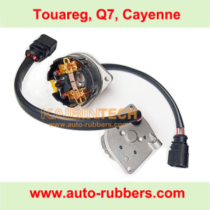 compressor repair kits battery module with carbon brush and electric wire for VW Touareg Porsche Cayenne Audi Q7